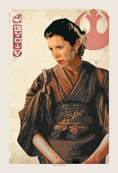 Princess Leia art