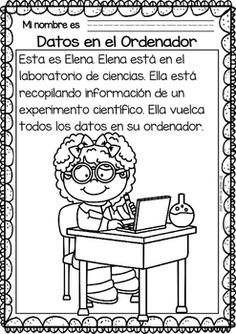 Easy Readings for Reading Comprehension in Spanish - Science Class