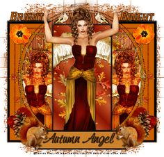 Betsy's Paradise Dreamer: Autumn Angel-Swt.Melode