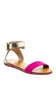 Mel Pony Hair Sandal by Rebels on @HauteLook