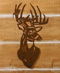 Look at this #zulilyfind! Laser-Cut Iron Deer Wall Art by Giftcraft #zulilyfinds