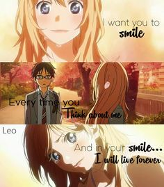Your Lie in April Your Lie in April Best Picture For Anime Quotes funny For Your Taste You are. Sad Anime Quotes, Manga Quotes, Sad Quotes, Anime Quotes About Life, Anime Motivational Quotes, Miyazono Kaori, April Quotes, Anime Tumblr, Your Lie In April