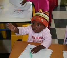 At school - Khayelitsha Township, Cape Town, South Africa © A guy called John