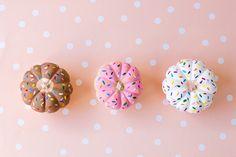original decoración en formas de dulces