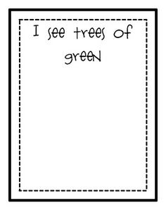 What a Wonderful World-Each child draws a picture for one line of the song. Great for spring!