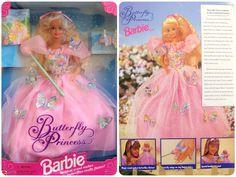 Butterfly Princess Barbie