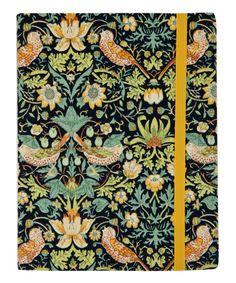 Medium Strawberry Thief Fabric Notebook, Liberty London.