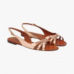Sandales plates Olivia - Michel Vivien