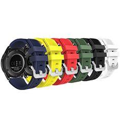 Gear S3 Frontier/ Classic Watch Band, MoKo [6-PACK] Soft ... https://www.amazon.com/dp/B01J0RWHRW/ref=cm_sw_r_pi_dp_x_XGbIzbDYPQ5PH
