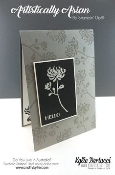 Stampin' Up! Australia: Kylie Bertucci Independent Demonstrator: Hello! Annual Catalogue 2016-2017 Week 8