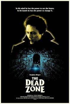 the dead zone poster - Google Search Horror Movie Posters, Cinema Posters, Movie Poster Art, Horror Films, Martin Sheen, Dead Zone Movie, The Dead Zone, Scary Movies, Great Movies