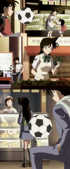 Shinichi and Ran Detective Conan OVA 6