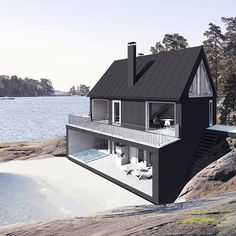 architectuur huis aan water.... super mooi!