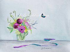 Watercolor Illustration by Jennifer Beaudet