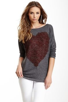Go Couture Boatneck Sweater