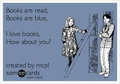 Pins book lovers! #Someecards #books