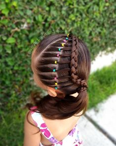 Image may contain: one or more people and outdoor Baby Girl Hairstyles, Kids Braided Hairstyles, Cute Hairstyles, Girl Hair Dos, Hair Due, Natural Hair Styles, Long Hair Styles, Toddler Hair, Love Hair