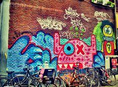 Amsterdam street-art, photo by Franziska Georgina