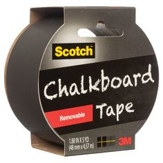 1905R Cb Blk Removable Chalkboard Tape