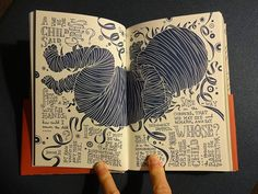 """""""Whitman Illuminated: Song of Myself,"""" an illustrated edition of Walt Whitman's iconic poem. The entire 256-page book is drawn by hand. Published by Tin House Books. Release date: May 13, 2014."""