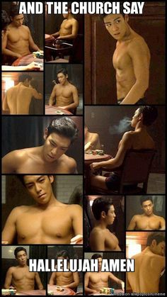 Never seen T.O.P top-less before...simply...WAOOWW...
