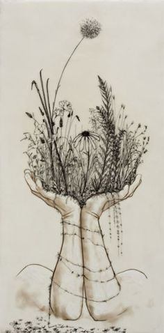 art piece by Andrea Benson that i've had my eye on for a while :). deff a summer tattoo goal