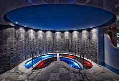 Spa and Wellness at the Hotel Eden Roc, Ascona Eden Roc Hotel Group Spa Design, Design Studio, Hotel Eden, Art Deco, Spa Offers, Plunge Pool, Wellness Spa, Sauna, Beautiful Space