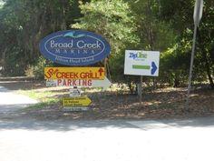 Visit Up the Creek Pub and Grill, Broad Creek Marina, Hilton Head!