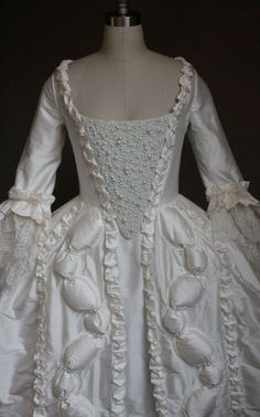 Ready Made Marie Antoinette Wedding Gown 30% disc. by RachelKerbyCouture on Etsy $3,275.19 USD