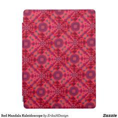 Red Mandala Kaleidoscope