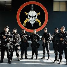 Would you be intimidated by these guys? This is the military police of Rio De Janeiro known as BOPE. #crime #gangs #drugs #favelas #poverty #ghetto #police #fiction #violence #corruption #RIOthebook #ya #yalit #youngadult #rio #brazil