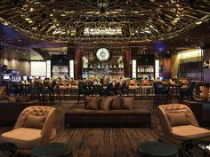 Bardot brasserie restaurant at the aria Vegas