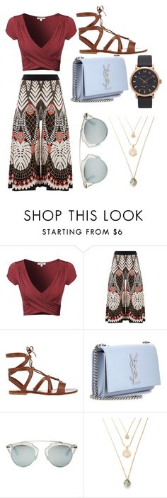 """""""Modern bohemian"""" by uyalyssa ❤ liked on Polyvore featuring Temperley London, Gianvito Rossi, Yves Saint Laurent, Christian Dior, Marc Jacobs and modern"""