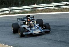 Emerson Fittipaldi (Lotus-Ford) Grand Prix d'Afrique du Sud -...
