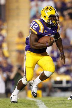 LSU Football Uniform - 2009-2011 Purple on Gold 3295e17fa
