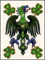 Irish: Eagle Temporaray Tattoo * Read more at the image link. (This is an affiliate link) Irish Tattoos, Fake Tattoos, Fighting Irish, Rooster, Eagle, Toys, Fun, Tattoo Ideas, Size 2