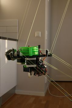 GitHub - tobbelobb/hangprinter: A RepRap hanging from the ceiling