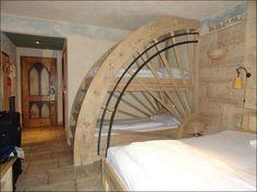 Cassandra Wood Interior Design: Ötlet - Malomkerék emeletes ágy