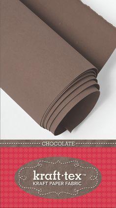 kraft-tex™ roll in Chocolate