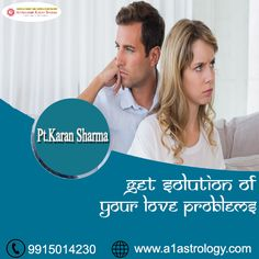 Get Solution Of Your love problems. Please visit us- www.a1astrology.com
