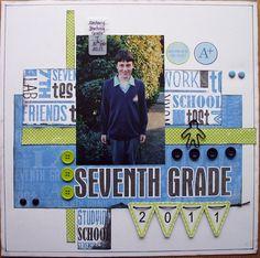 seventh grade - Scrapbook.com