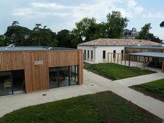 Pôle Enfance Jeunesse à Châteauneuf sur Charente (16) Architecte Architectes Associés