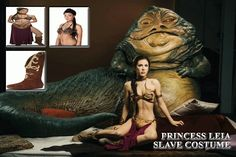 Link: Wax Jabba the Hutt and Slave Leia at Madame Tussauds Wax Museum The Force Star Wars, Rogue One Star Wars, Star Wars Cast, Madame Tussauds, Star Wars Halloween Costumes, Wax Statue, Pin Up, Jabba The Hutt, Wax Museum