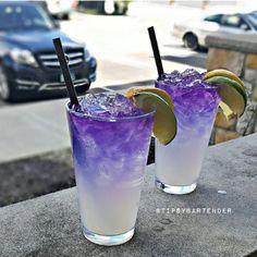 PURPLE MOTHERF*CKER Gin Bacardi Rum Patron Tequila Grape Vodka Grape Liqueur Raspberry Liqueur Fresh Lime Juice Lemonade Sprite Instagram photo credit: @pookie_mixinitup Post your original recipe and photo on Instagram using #TipsyBartender and we...