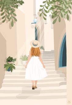 Digital Illustration, Fine Art Print, available in and Archival thick paper Illustration Girl, Digital Illustration, Oil Painting Abstract, Painting Art, Watercolor Painting, Zen Art, Cartoon Art, Cute Art, Art Girl