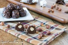#LowCarb #SugarFree Ferrero Rocher Shared on https://www.facebook.com/LowCarbZen