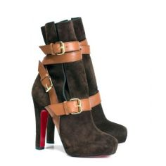 Christian Louboutin Guerriere 120 Suede Ankle Boots ee20bf83d60