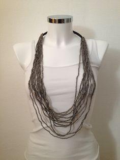 Necklace silver - 14-1040