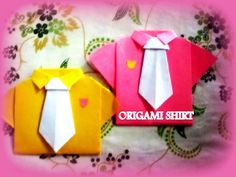 How to Make Cute DIY T-Shirt Origami |
