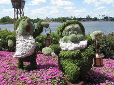 Epcot Flower & Garden Festival 2012